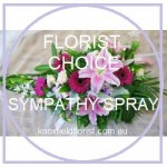 Florist Choice Sympathy Spray